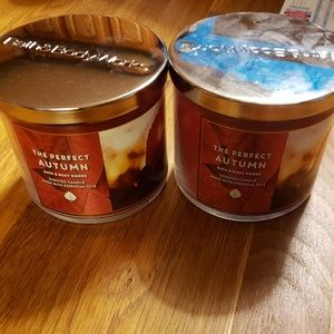 The perfect autumn 3 wick candle